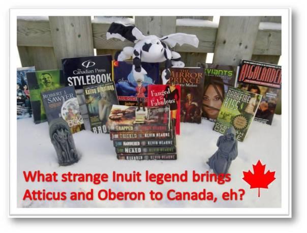 Atticus comes to Canada
