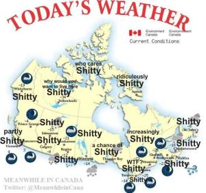 shitty Canadian weather