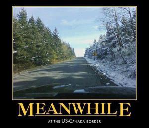 US~Canada border