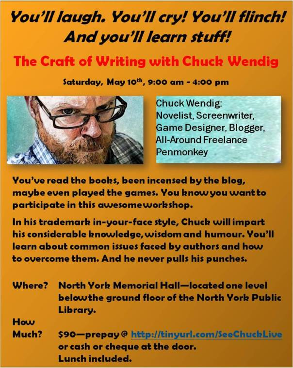 Chuck workshop flyer