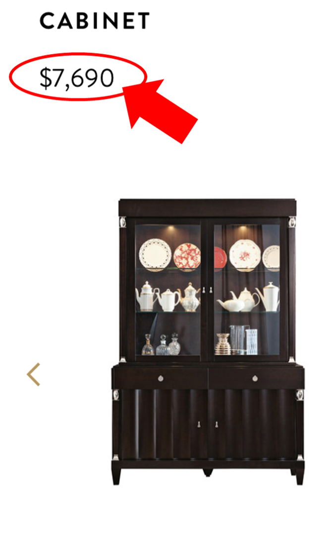 Artemest China Cabinet
